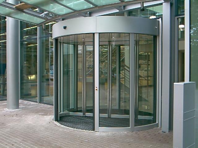 Revolving Door Custom Entry System Bauporte